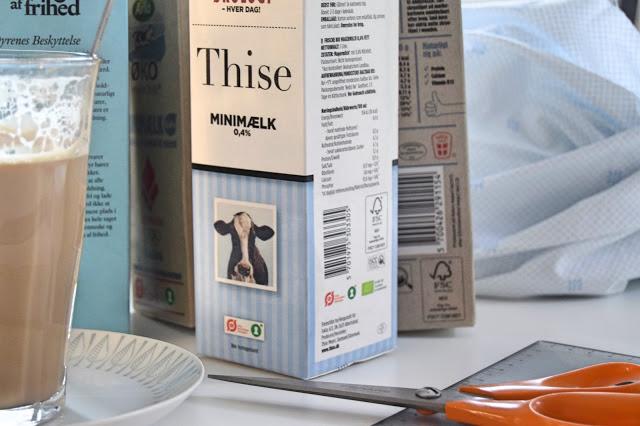 Genbrug mælkekartoner