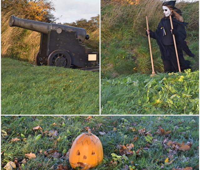 Halloween på volden