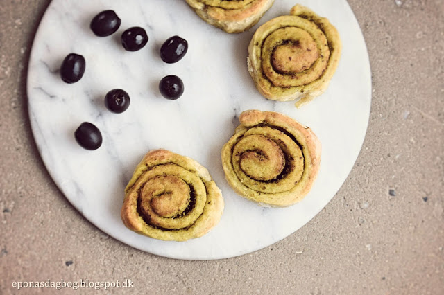 Pesto snegle – lækkert madbrød