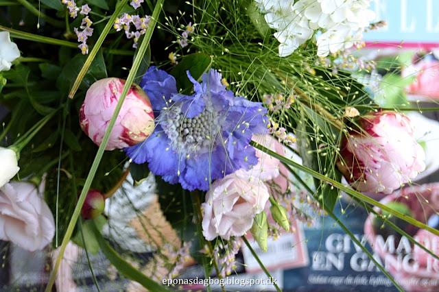Blomster til mig