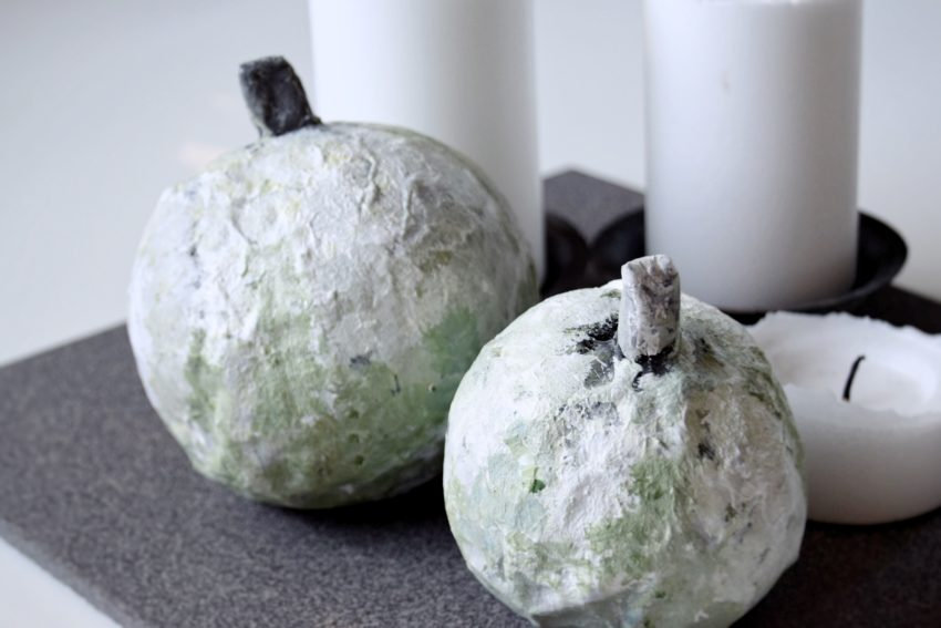 Papmache græskar