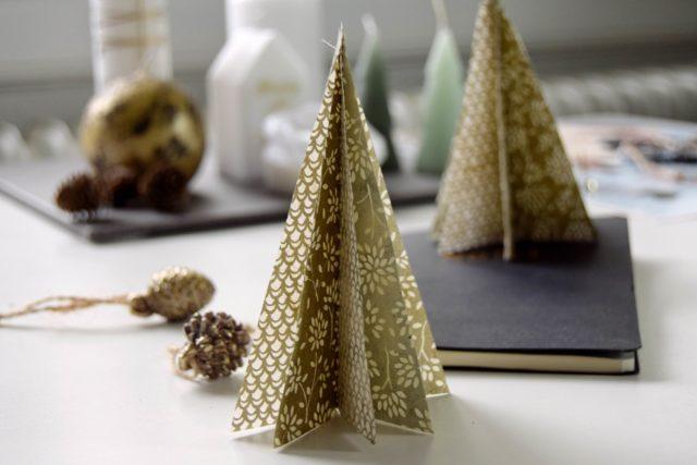 Juletræer i karton