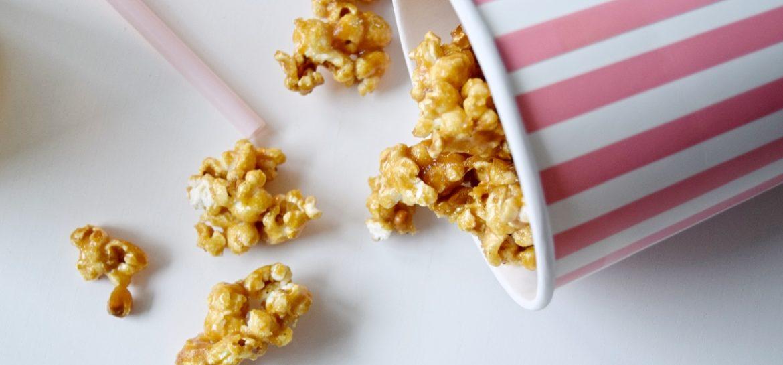 Fredagslækkeri: Karamel popcorn