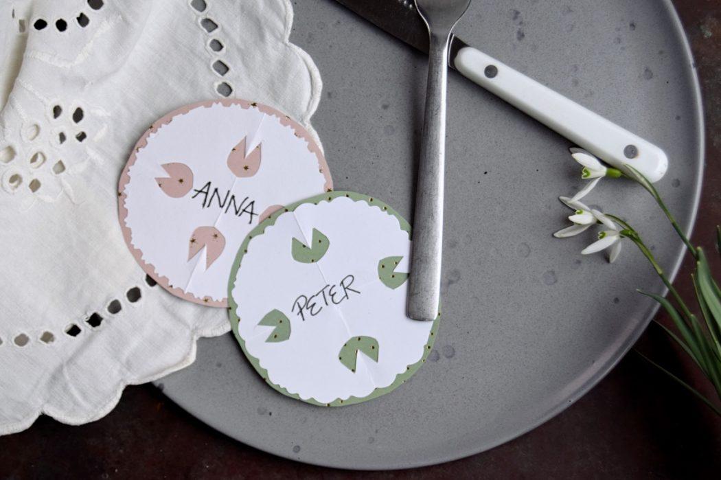 Gækkebreve & bordkort