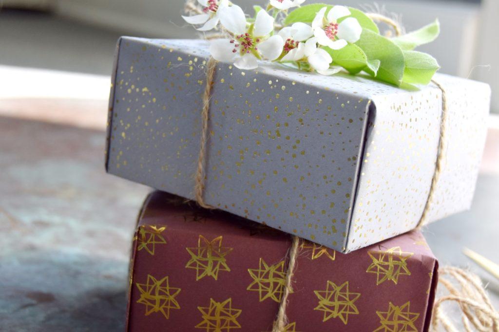 Fold selv gaveæske