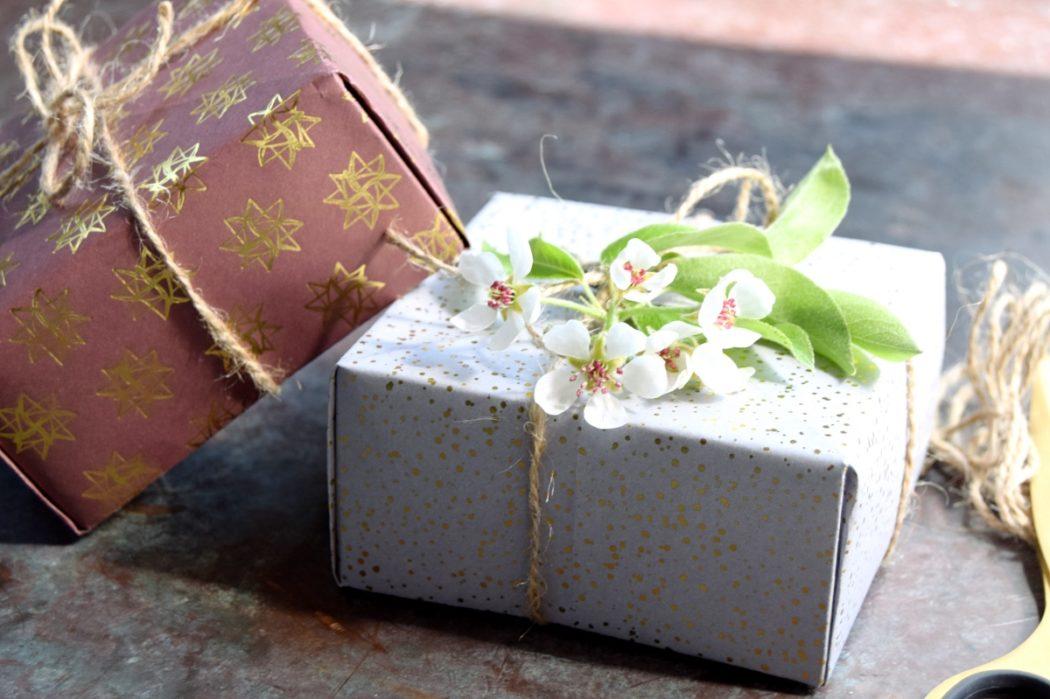 Fold selv gaveæsker og -poser