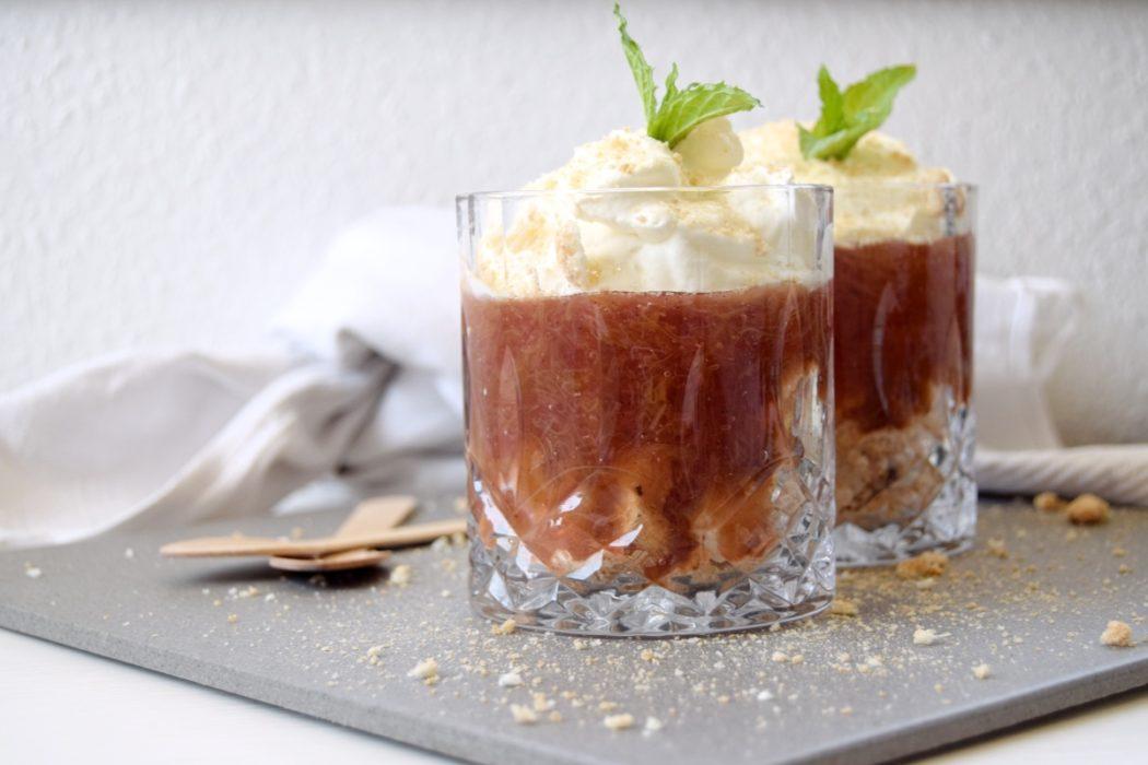 Nem rabarber dessert | Eponas dagbog