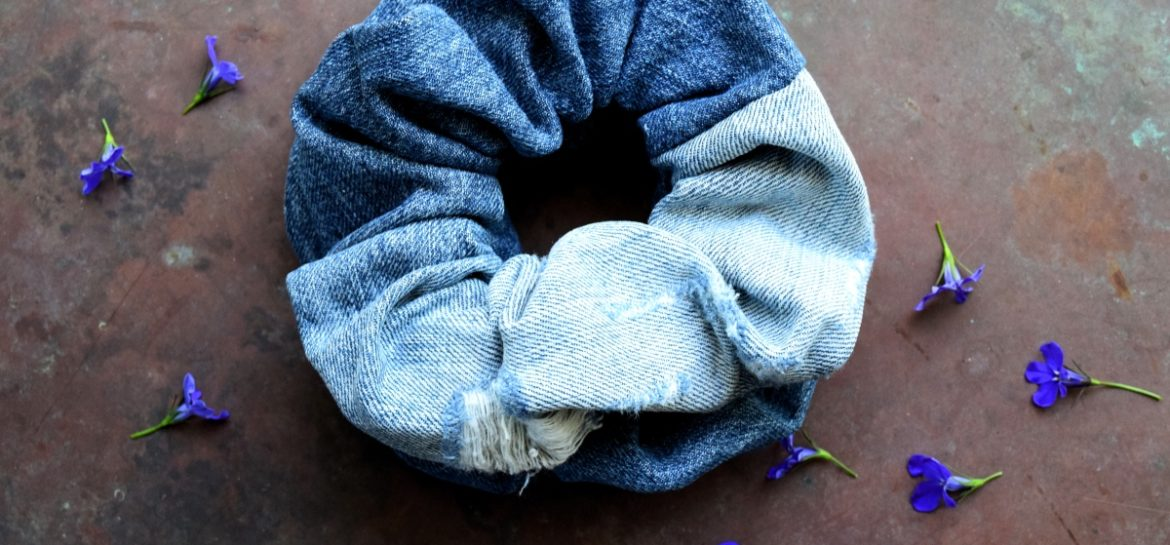 Sy selv jeans scrunchie