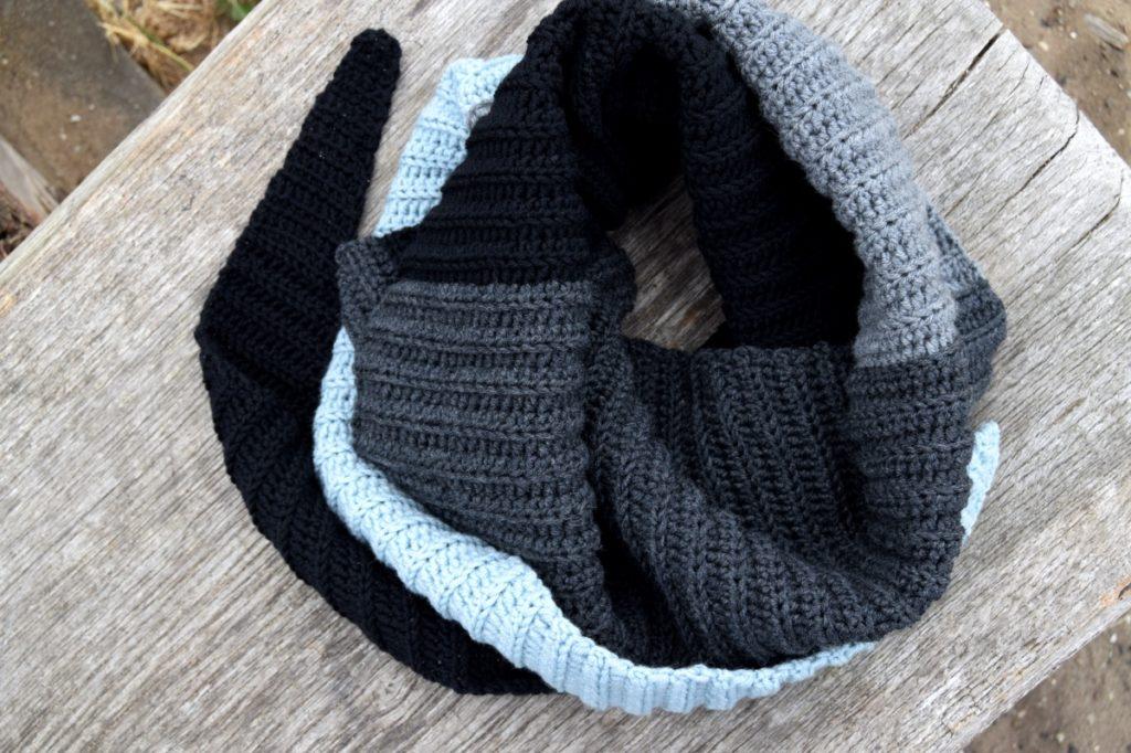 Hæklet halstørklæde, hækleopskrifter damer