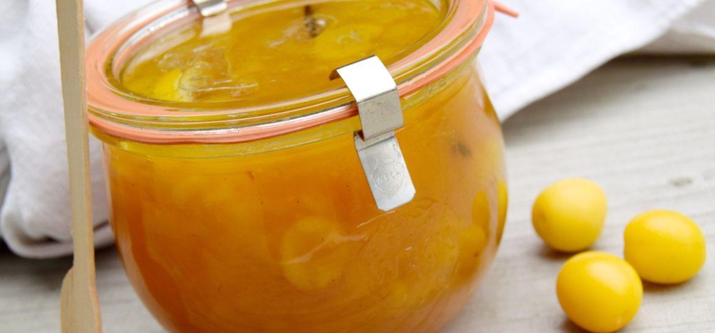 Hjemmelavet mirabelle marmelade