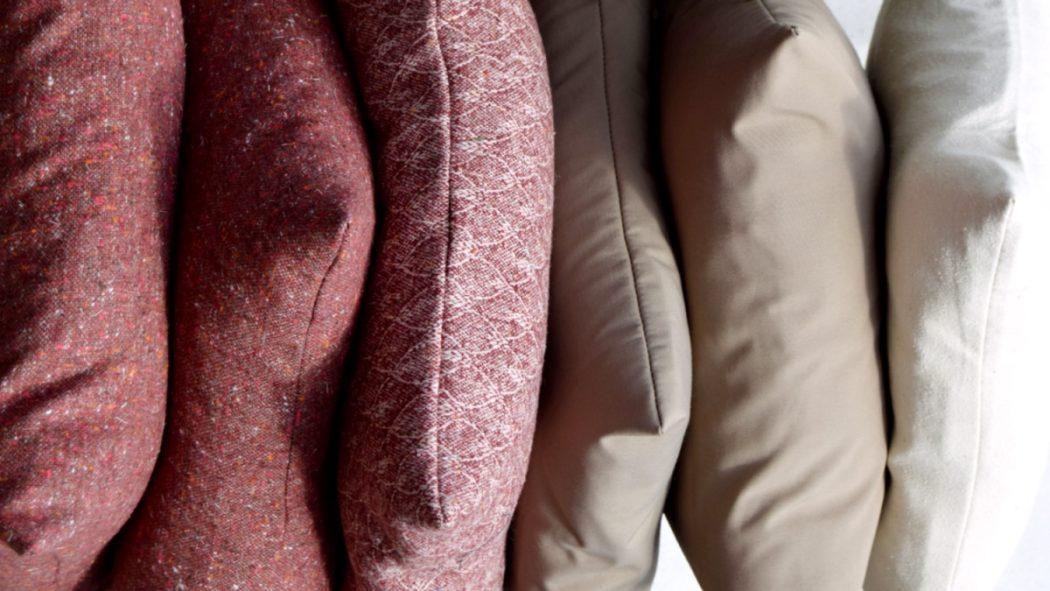Sofapuder i efterårsfarver