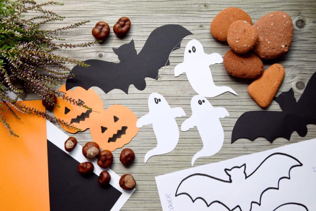 Halloween skabeloner