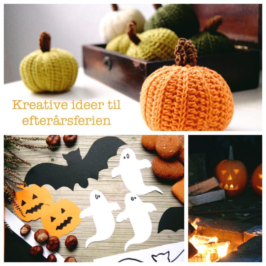 Kreative ideer til efterårsferien