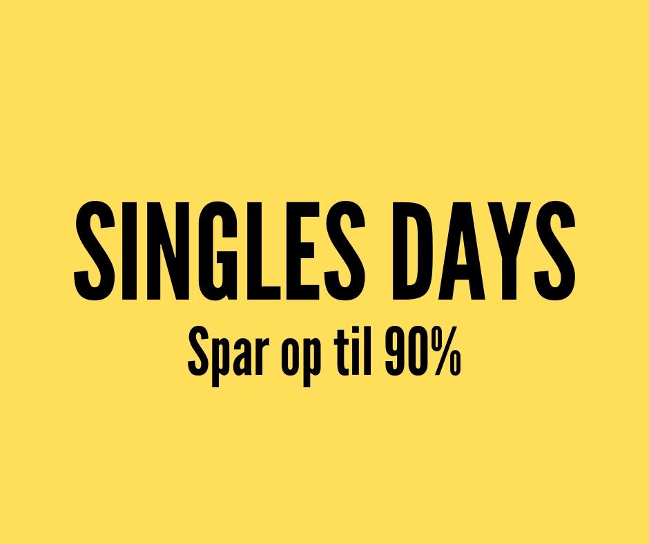 Singles day – Store besparelser på garn & tilbehør