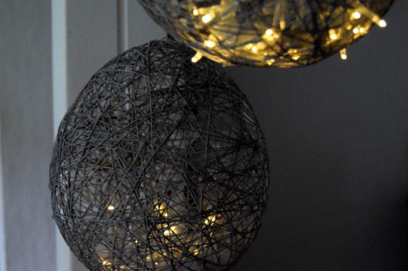 Lamper lavet af bomuldsgarn