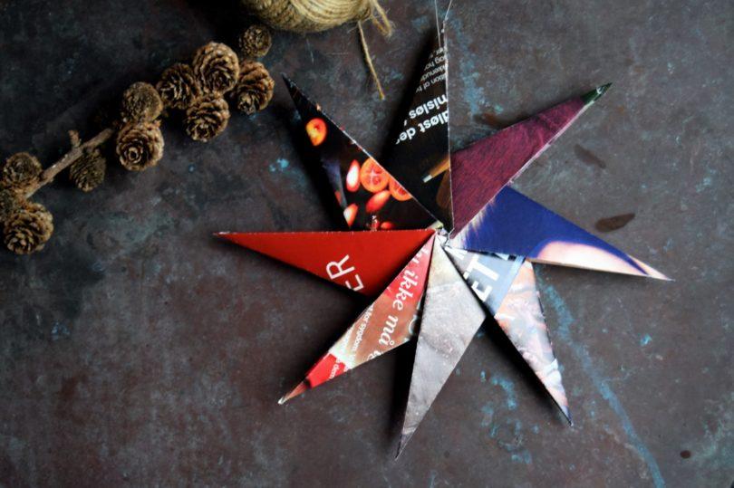 Stjerner foldet af papir