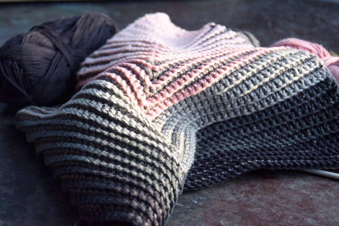 Ugens klud #5 – Diagonal hæklet karklud