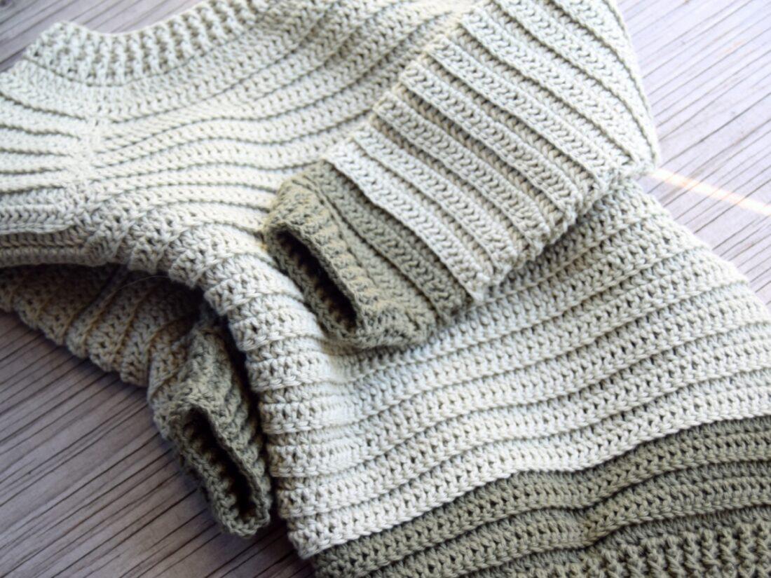 Sofus trøjen – Hæklet trøje til de små