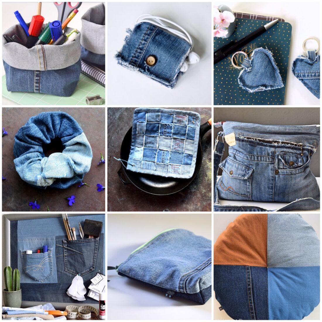 Genbrug: 9 ideer med gamle jeans