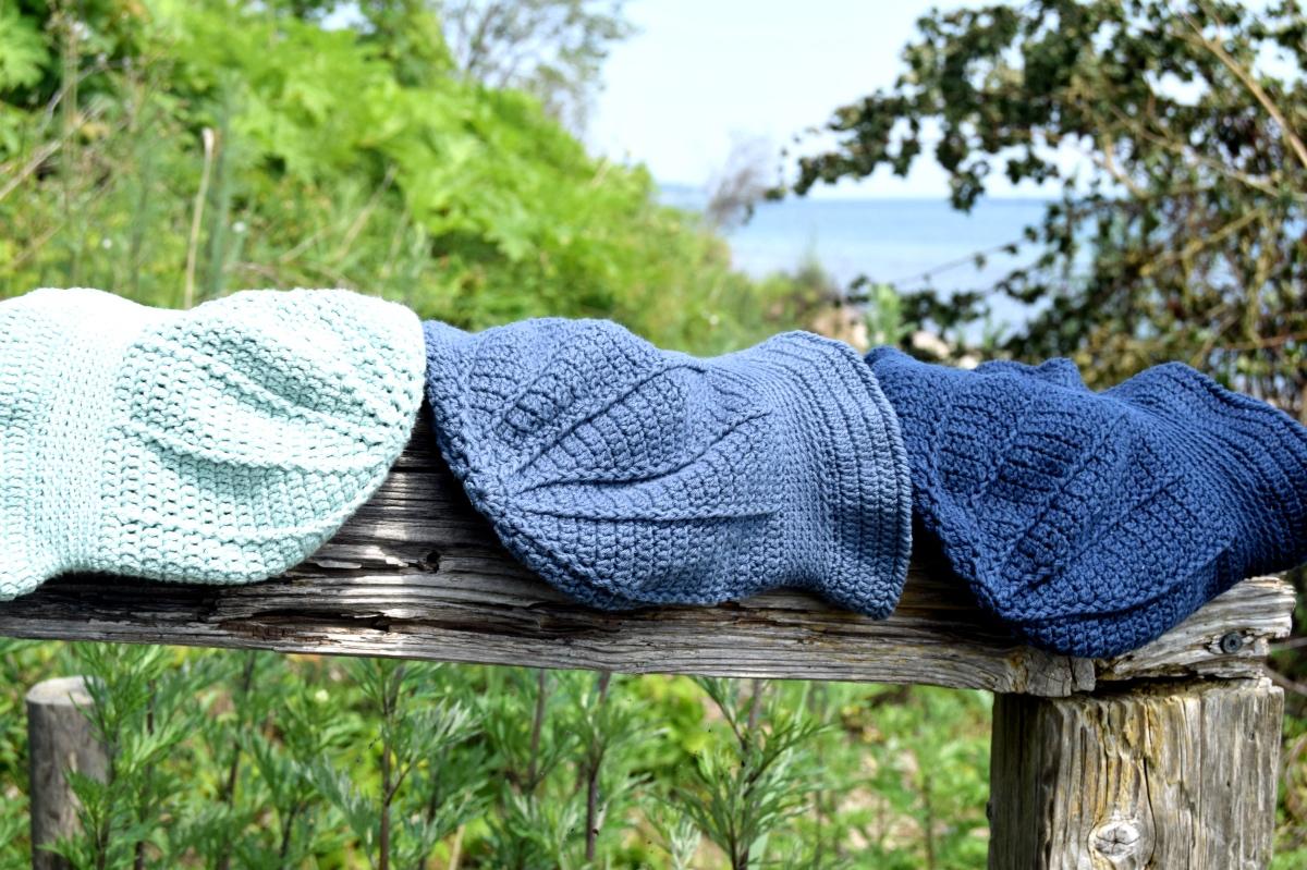 Snurretop bøllehat – Hæklet sommerhat til de små