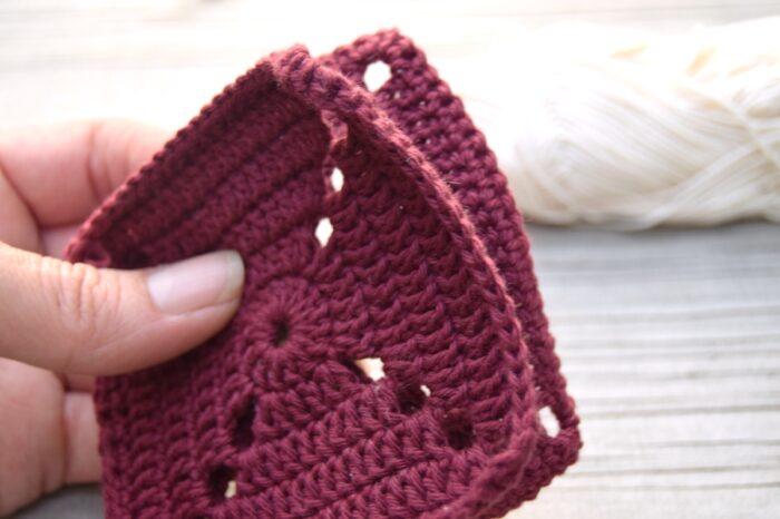 Sammenhækling af firkanter med kædemasker