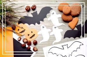 Print selv halloween skabeloner