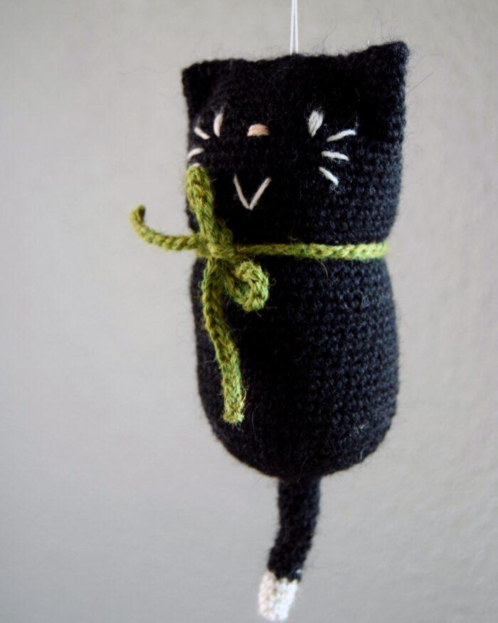 Hæklet kat