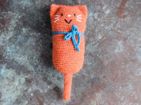Katten Felix hækleopskrift