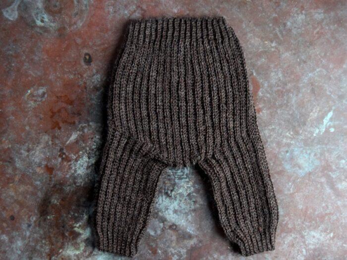 Mads bukser, hæklede bukser til baby