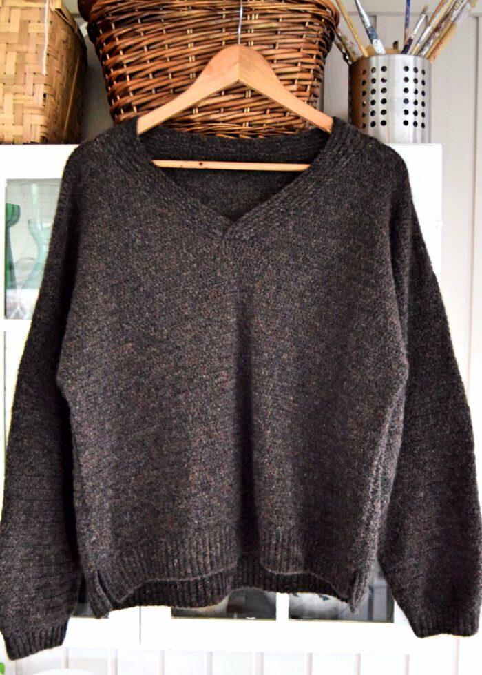 Hæklet sweater, Carola sweater