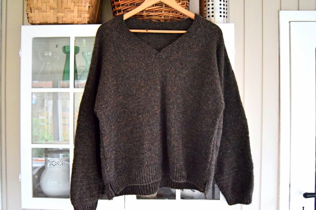 Carola sweater, hæklet sweater
