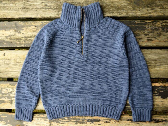 Sune lynlås sweater