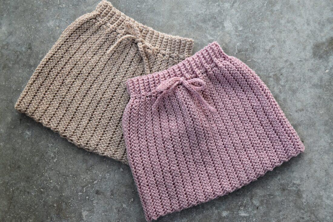 Taras vinter nederdel